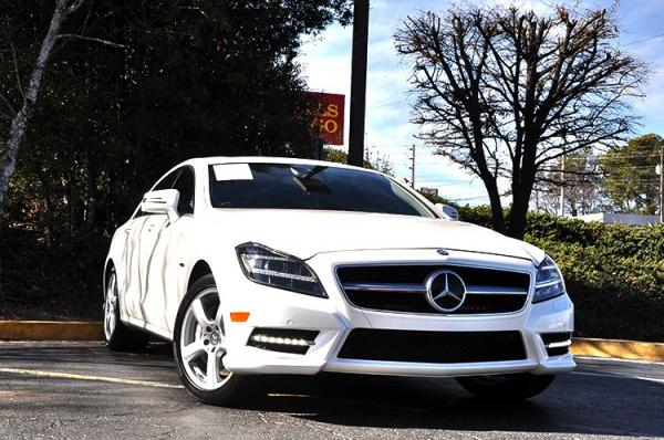Used 2012 Mercedes-Benz CLS-Class CLS550 for sale Sold at Gravity Autos in Roswell GA 30076 2