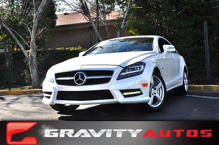 Used 2012 Mercedes-Benz CLS-Class CLS550 for sale Sold at Gravity Autos in Roswell GA 30076 1