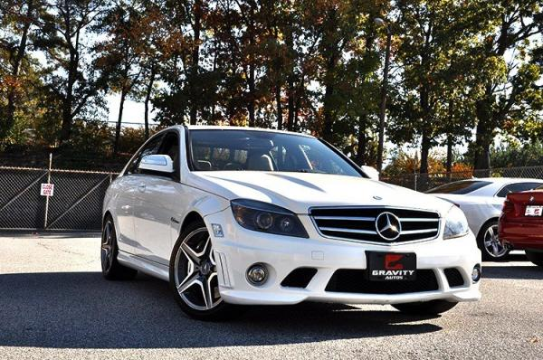 Used 2009 Mercedes-Benz C-Class 6.3L AMG for sale Sold at Gravity Autos in Roswell GA 30076 2