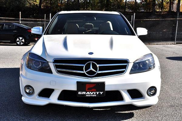 Used 2009 Mercedes-Benz C-Class 6.3L AMG for sale Sold at Gravity Autos in Roswell GA 30076 3