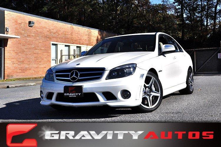 Used 2009 Mercedes-Benz C-Class 6.3L AMG for sale Sold at Gravity Autos in Roswell GA 30076 1