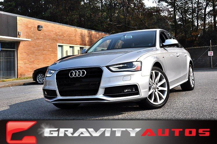 Used 2014 Audi A4 Premium for sale Sold at Gravity Autos in Roswell GA 30076 1