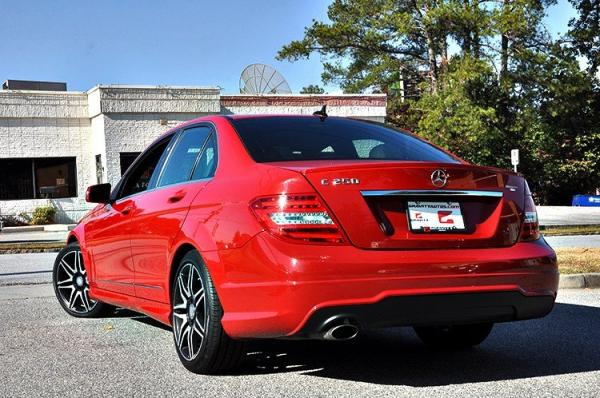 Used 2013 Mercedes-Benz C-Class C250 Sport for sale Sold at Gravity Autos in Roswell GA 30076 4