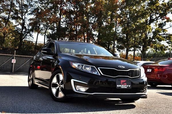 Used 2013 Kia Optima Hybrid EX for sale Sold at Gravity Autos in Roswell GA 30076 2