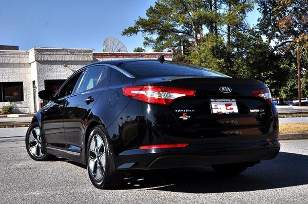 Used 2013 Kia Optima Hybrid EX for sale Sold at Gravity Autos in Roswell GA 30076 4