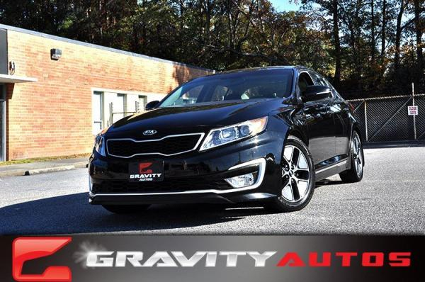 Used 2013 Kia Optima Hybrid EX for sale Sold at Gravity Autos in Roswell GA 30076 1