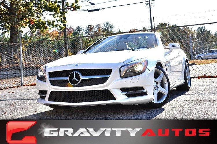 Used 2014 Mercedes-Benz SL-Class SL550 for sale Sold at Gravity Autos in Roswell GA 30076 1