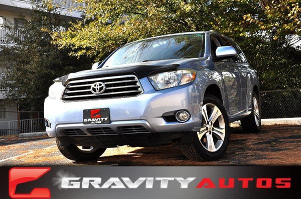 Used 2008 Toyota Highlander Sport for sale Sold at Gravity Autos in Roswell GA 30076 1