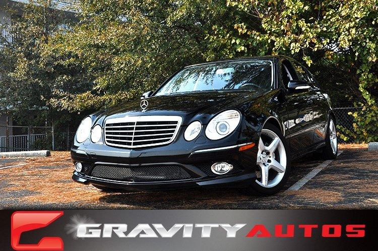 Used 2009 Mercedes-Benz E-Class Sport 3.5L for sale Sold at Gravity Autos in Roswell GA 30076 1