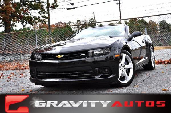 Used 2015 Chevrolet Camaro SS for sale Sold at Gravity Autos in Roswell GA 30076 1