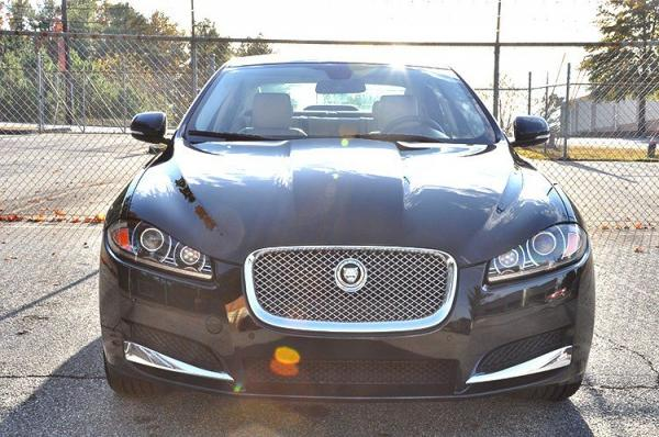 Used 2012 Jaguar XF Portfolio w/Sport Pkg for sale Sold at Gravity Autos in Roswell GA 30076 3