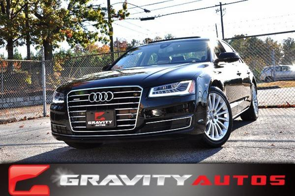 Used 2015 Audi A8 3.0T for sale Sold at Gravity Autos in Roswell GA 30076 1