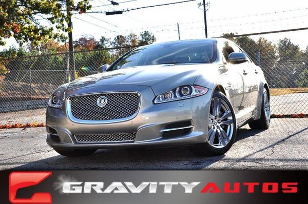 Used 2013 Jaguar XJ for sale Sold at Gravity Autos in Roswell GA 30076 1