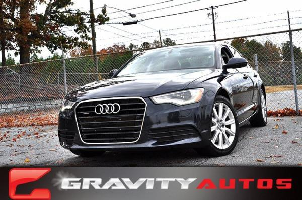 Used 2014 Audi A6 2.0T Premium Plus for sale Sold at Gravity Autos in Roswell GA 30076 1
