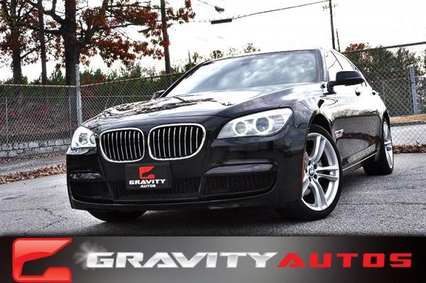 Used 2013 BMW 7 Series 740i for sale Sold at Gravity Autos in Roswell GA 30076 1
