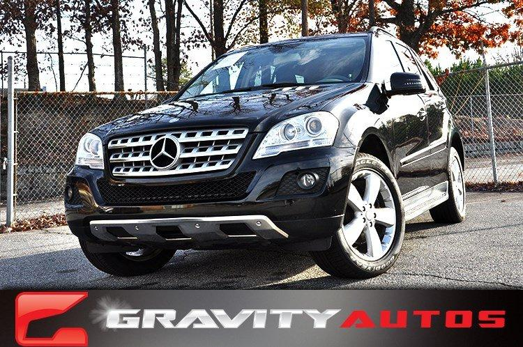 Used 2011 Mercedes-Benz M-Class ML350 for sale Sold at Gravity Autos in Roswell GA 30076 1