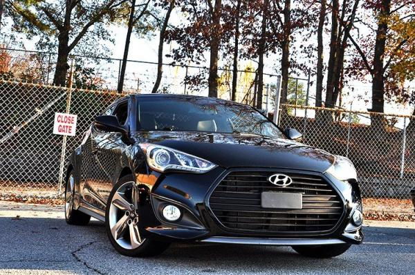 Used 2013 Hyundai Veloster Turbo w/Black Int for sale Sold at Gravity Autos in Roswell GA 30076 2