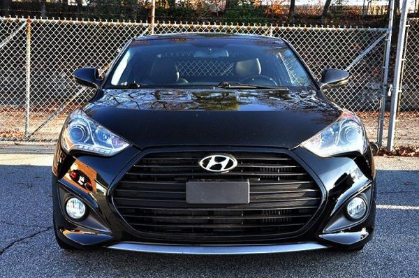 Used 2013 Hyundai Veloster Turbo w/Black Int for sale Sold at Gravity Autos in Roswell GA 30076 3