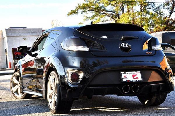 Used 2013 Hyundai Veloster Turbo w/Black Int for sale Sold at Gravity Autos in Roswell GA 30076 4