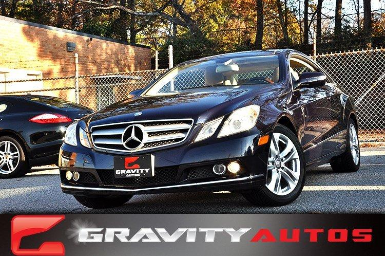 Used 2010 Mercedes-Benz E-Class E350 for sale Sold at Gravity Autos in Roswell GA 30076 1