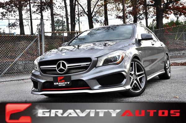 Used 2014 Mercedes-Benz CLA-Class CLA45 AMG for sale Sold at Gravity Autos in Roswell GA 30076 1