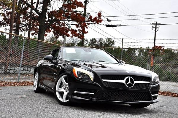 Used 2014 Mercedes-Benz SL-Class SL550 for sale Sold at Gravity Autos in Roswell GA 30076 2