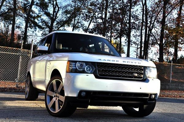 Used 2012 Land Rover Range Rover HSE for sale Sold at Gravity Autos in Roswell GA 30076 2