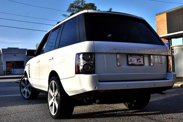 Used 2012 Land Rover Range Rover HSE for sale Sold at Gravity Autos in Roswell GA 30076 4