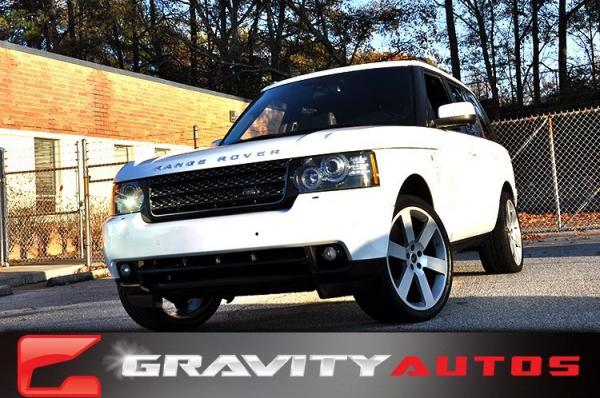 Used 2012 Land Rover Range Rover HSE for sale Sold at Gravity Autos in Roswell GA 30076 1