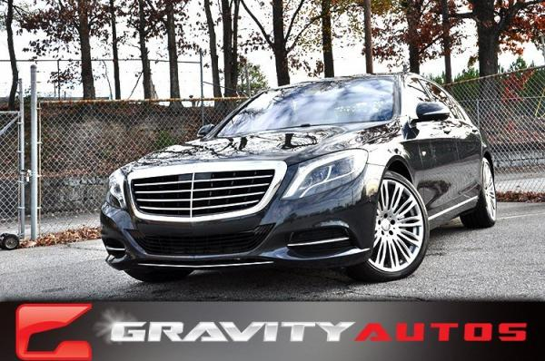Used 2015 Mercedes-Benz S-Class S550 for sale Sold at Gravity Autos in Roswell GA 30076 1