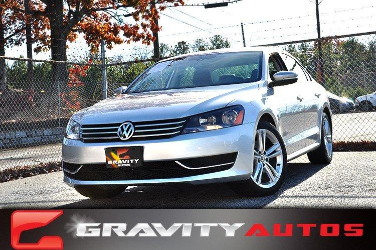 Used 2014 Volkswagen Passat SE w/Snrf/Nav for sale Sold at Gravity Autos in Roswell GA 30076 1