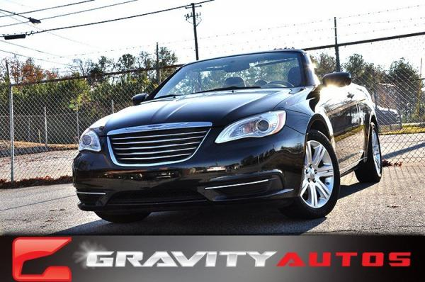Used 2012 Chrysler 200 Touring for sale Sold at Gravity Autos in Roswell GA 30076 1