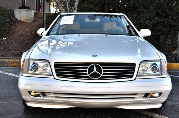 Used 2000 Mercedes-Benz SL-Class for sale Sold at Gravity Autos in Roswell GA 30076 3