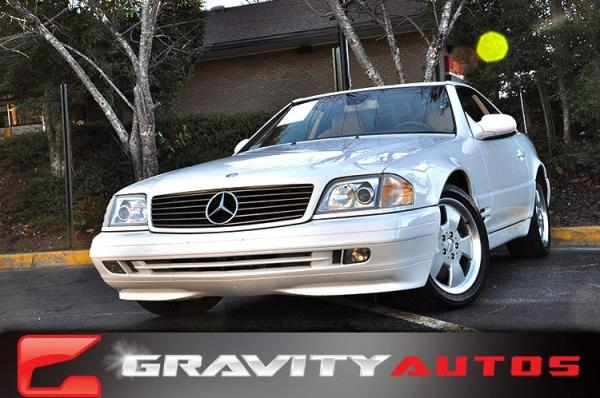 Used 2000 Mercedes-Benz SL-Class for sale Sold at Gravity Autos in Roswell GA 30076 1