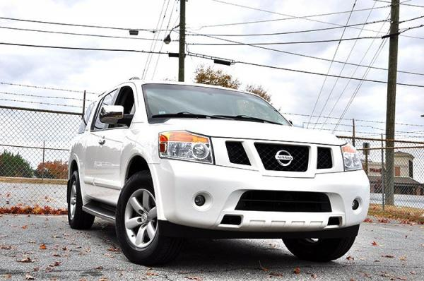 Used 2012 Nissan Armada SV for sale Sold at Gravity Autos in Roswell GA 30076 2