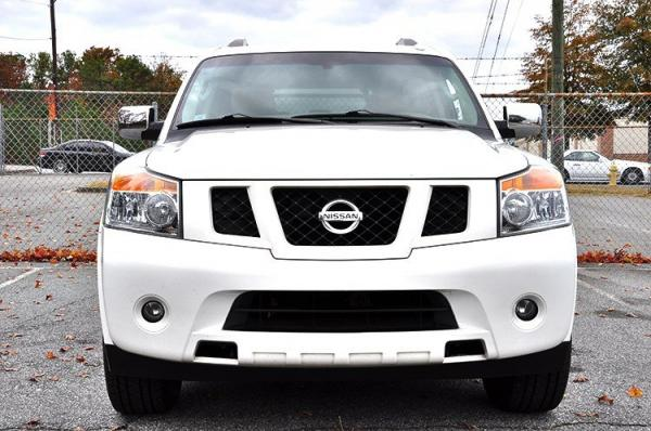 Used 2012 Nissan Armada SV for sale Sold at Gravity Autos in Roswell GA 30076 3