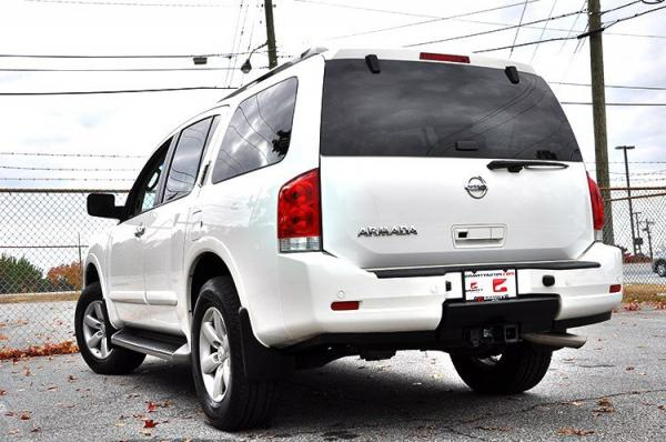 Used 2012 Nissan Armada SV for sale Sold at Gravity Autos in Roswell GA 30076 4