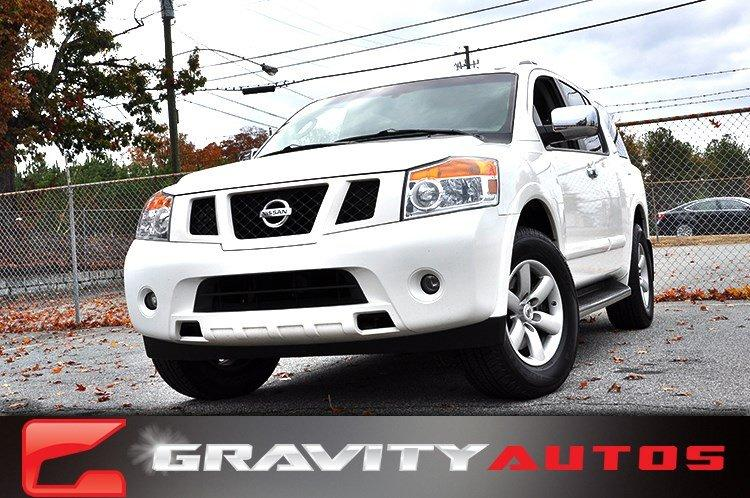 Used 2012 Nissan Armada SV for sale Sold at Gravity Autos in Roswell GA 30076 1