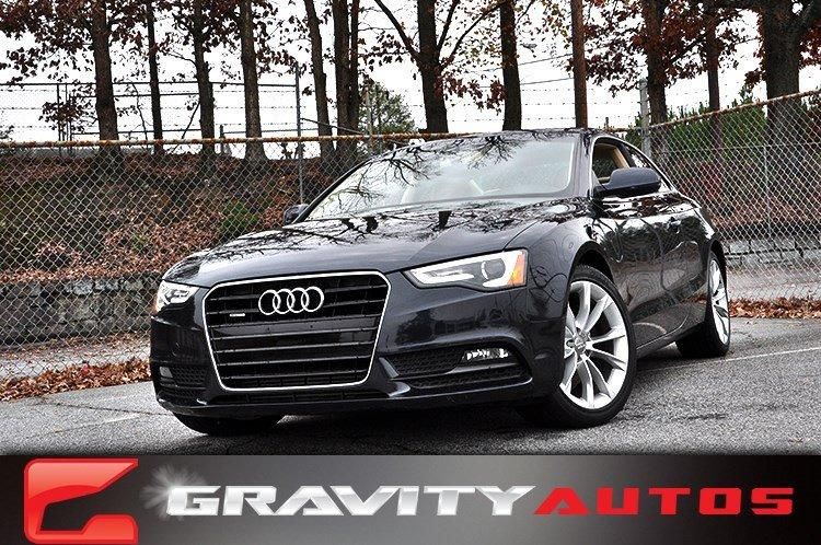 Used 2013 Audi A5 Premium Plus for sale Sold at Gravity Autos in Roswell GA 30076 1