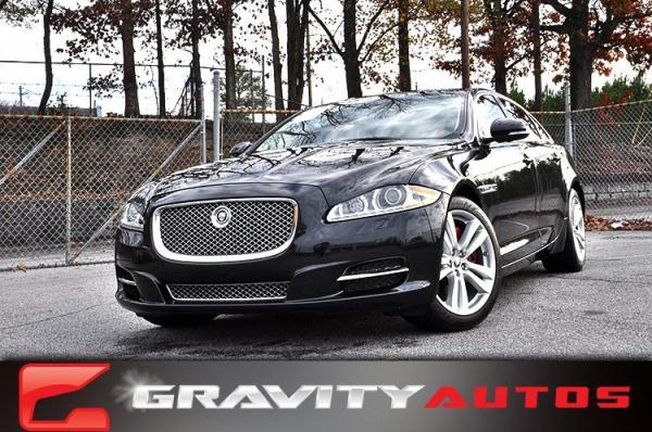 Used 2012 Jaguar XJ XJL for sale Sold at Gravity Autos in Roswell GA 30076 1