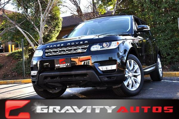 Used 2014 Land Rover Range Rover Sport HSE for sale Sold at Gravity Autos in Roswell GA 30076 1
