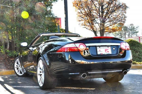 Used 2009 Jaguar XK Series for sale Sold at Gravity Autos in Roswell GA 30076 4