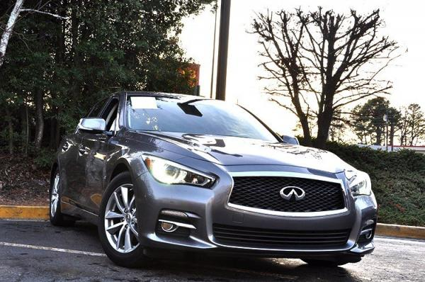 Used 2014 Infiniti Q50 Premium for sale Sold at Gravity Autos in Roswell GA 30076 2