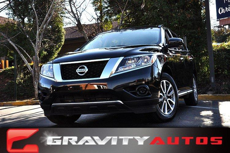 Used 2015 Nissan Pathfinder S for sale Sold at Gravity Autos in Roswell GA 30076 1