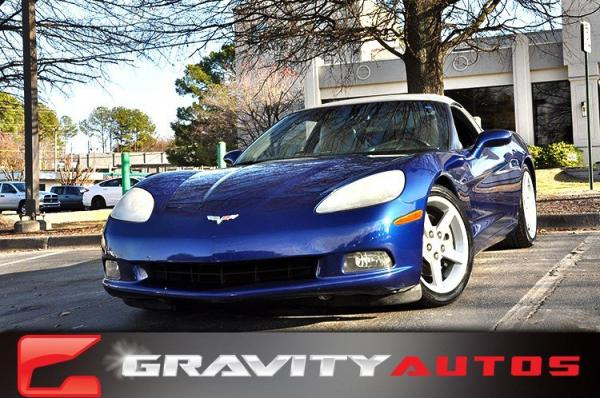 Used 2006 Chevrolet Corvette for sale Sold at Gravity Autos in Roswell GA 30076 1