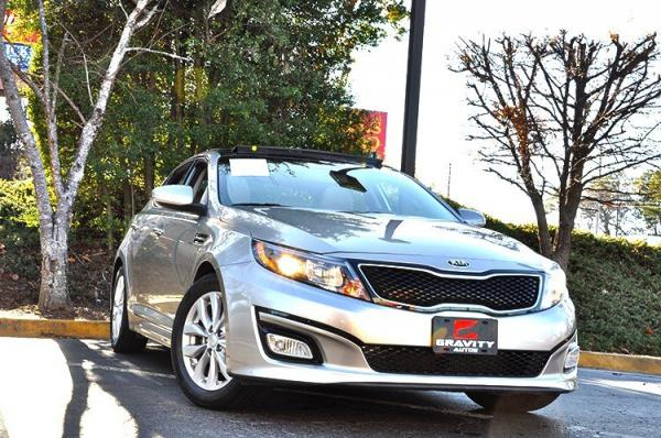 Used 2014 Kia Optima EX for sale Sold at Gravity Autos in Roswell GA 30076 2