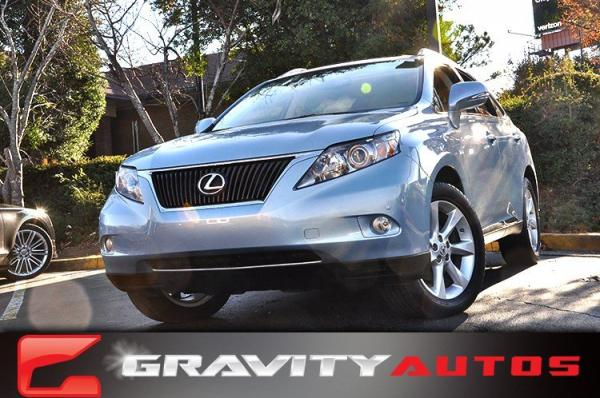 Used 2010 Lexus RX 350 for sale Sold at Gravity Autos in Roswell GA 30076 1