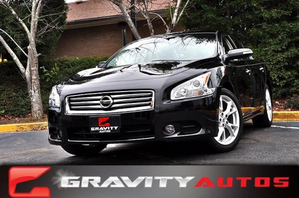 Used 2013 Nissan Maxima 3.5 SV for sale Sold at Gravity Autos in Roswell GA 30076 1