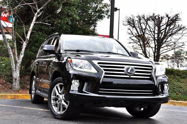 Used 2013 Lexus LX 570 for sale Sold at Gravity Autos in Roswell GA 30076 2
