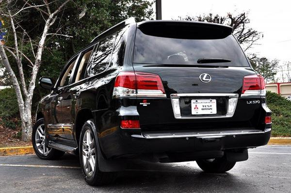Used 2013 Lexus LX 570 for sale Sold at Gravity Autos in Roswell GA 30076 4
